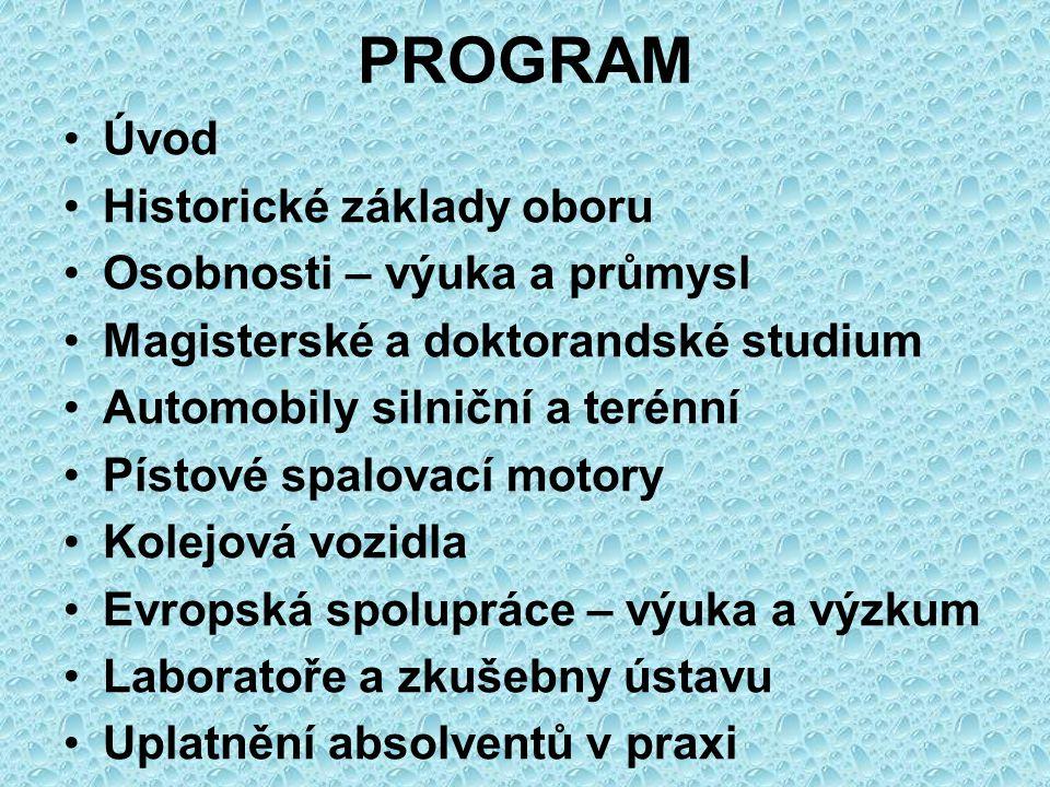 ČVUT v Praze 1.4.2011 MODERNÍ STROJÍRENSTVÍ VOZIDLA A MOTORY Ing.