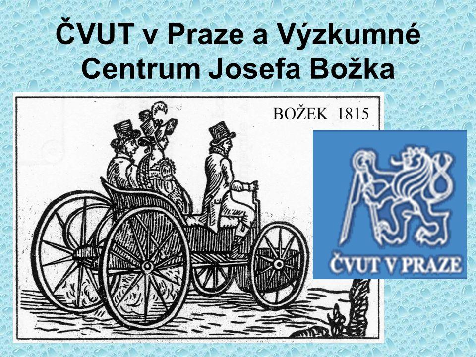 DOKTORSKÉ STUDIUM Zapojení do činnosti VCJB, založeného v roce 2000 Výzkumné centrum Josefa Božka - VCJB Josef Bozek Research Center- JBRC Ředitel - Prof.