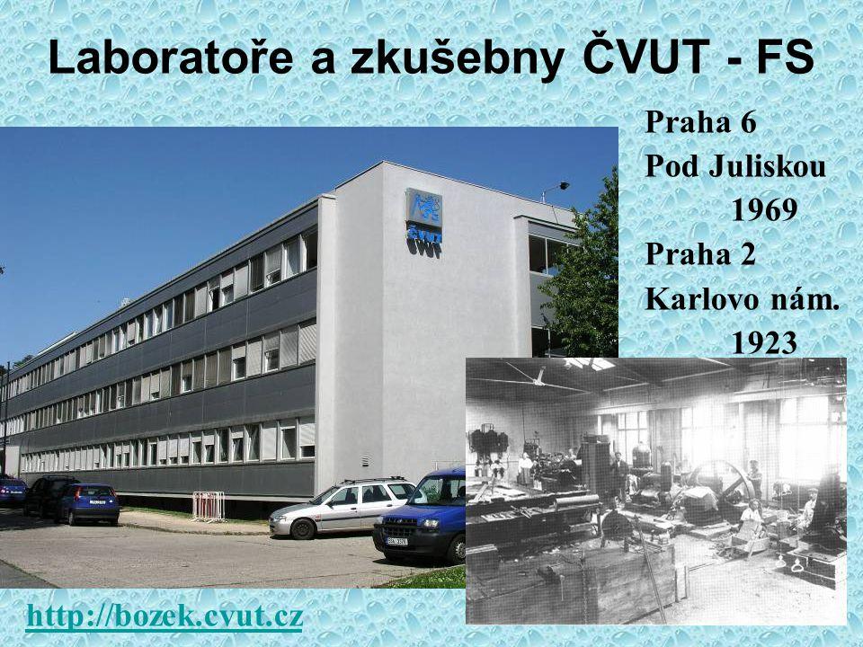ČVUT v Praze a Výzkumné Centrum Josefa Božka