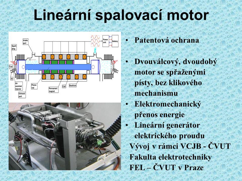 Zkušebna VCJB – ČVUT v Praze Plynový zážehový motor CNG matematický model zkušební stanoviště