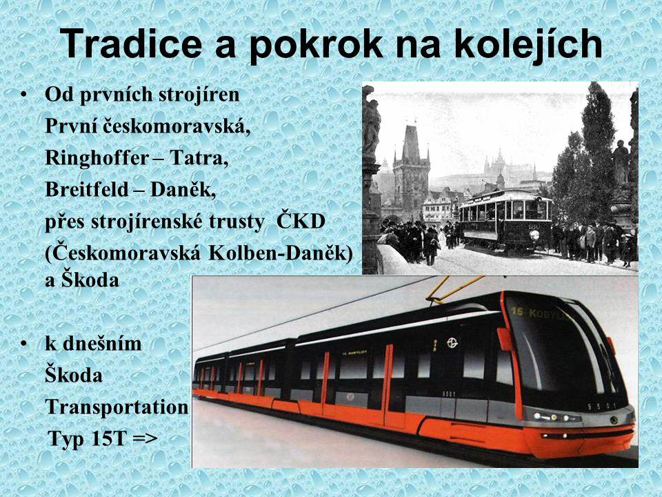 Praga – vůz na statisíce km 1907 (Kec – Petránek) - 2002 ←Typ V - 1911 - Ing.František Kec První úspěšný nákladní automobil Praga Piccolo - Ing.