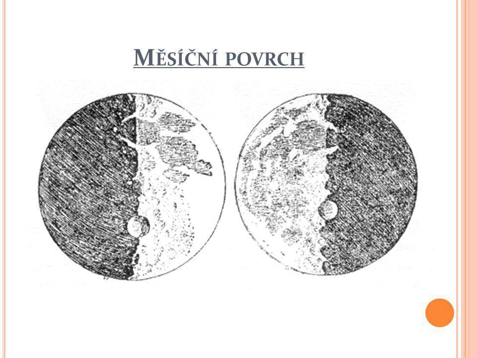 M ĚSÍČNÍ POVRCH