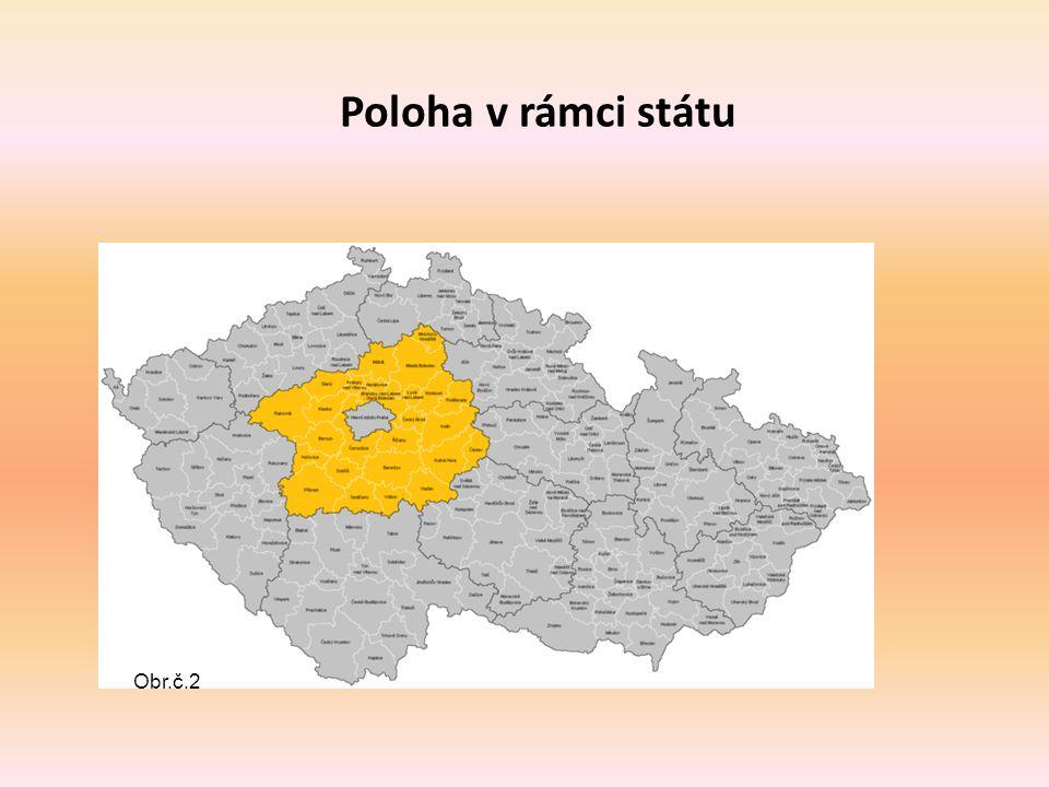 Rozloha, počet obyvatel, administrativní členění Sídlo: Praha Hejtman: MVDr.
