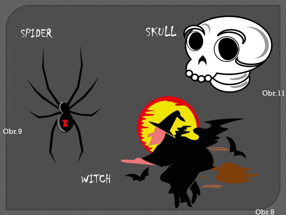 Obr.8 WITCH SPIDER Obr.9 SKULL Obr.11