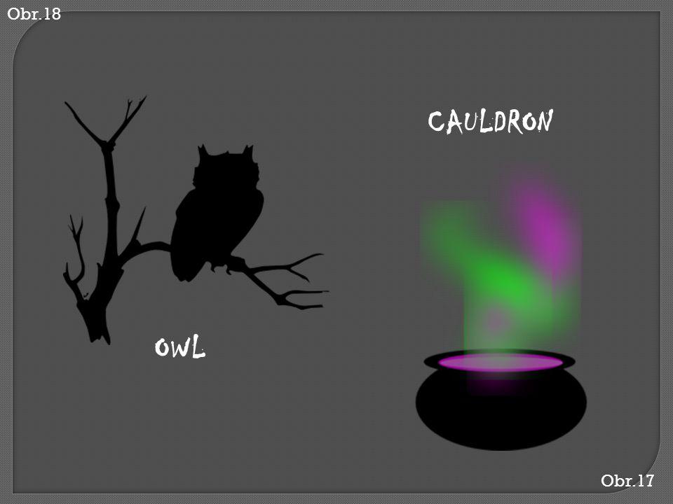 Obr.17 CAULDRON Obr.18 OWL