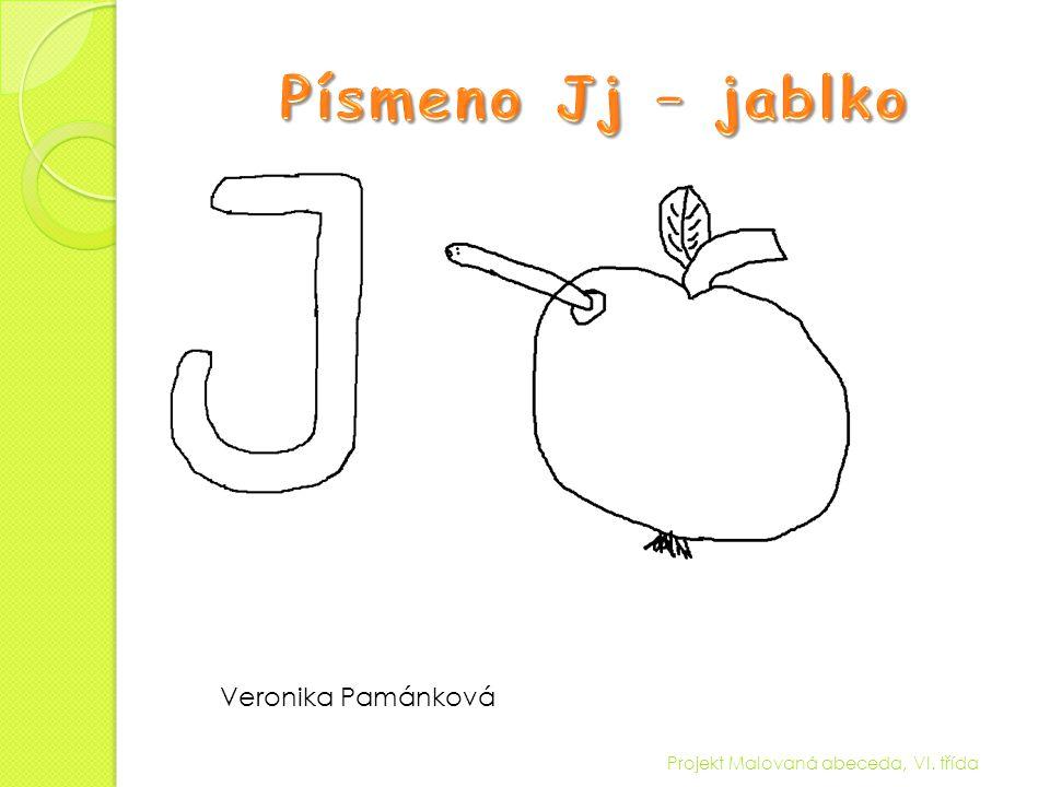 Projekt Malovaná abeceda, VI. třída Veronika Pamánková