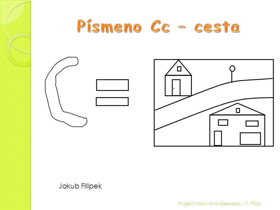 Projekt Malovaná abeceda, VI. třída Eliška Hanslová