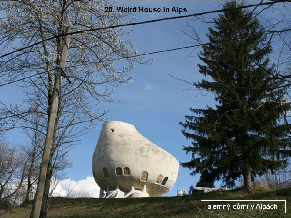 19. Shoe House (Pennsylvania, United States) Dům bota v Pennsylvaii