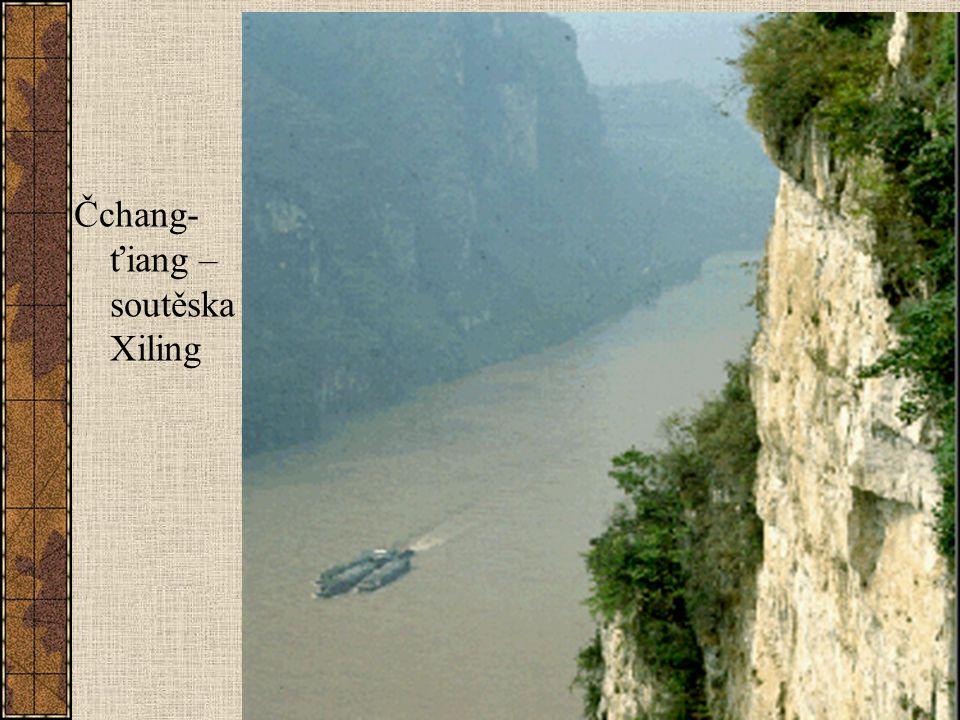 Čchang- ťiang – soutěska Xiling