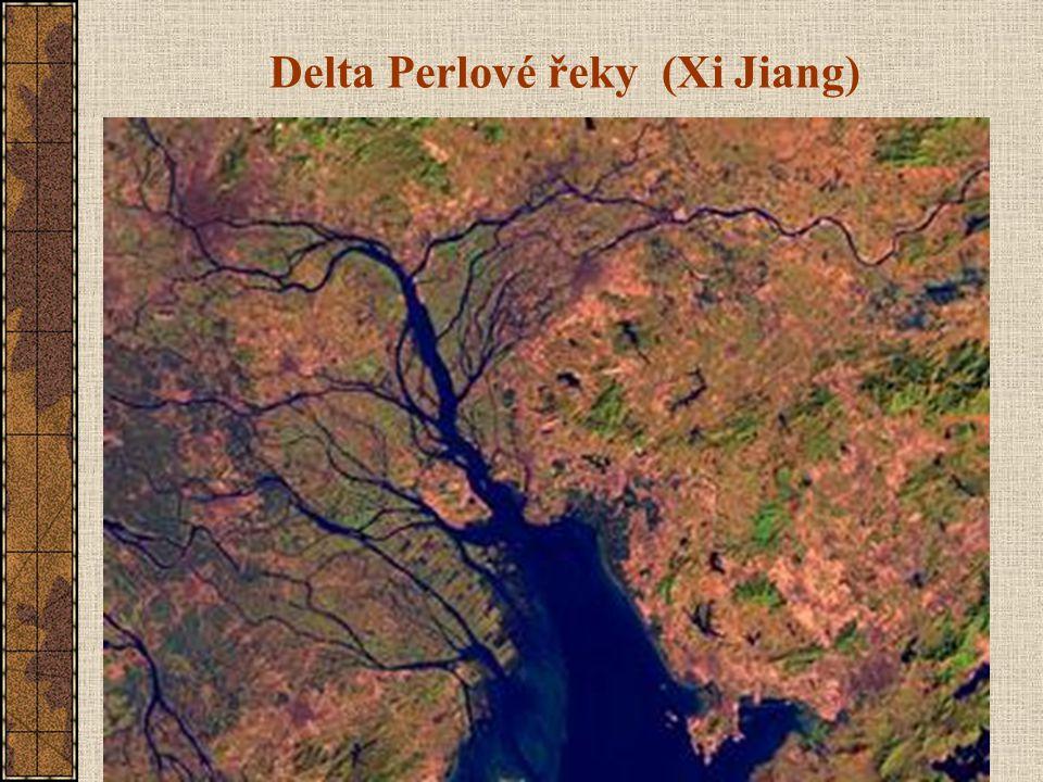 Delta Perlové řeky (Xi Jiang)