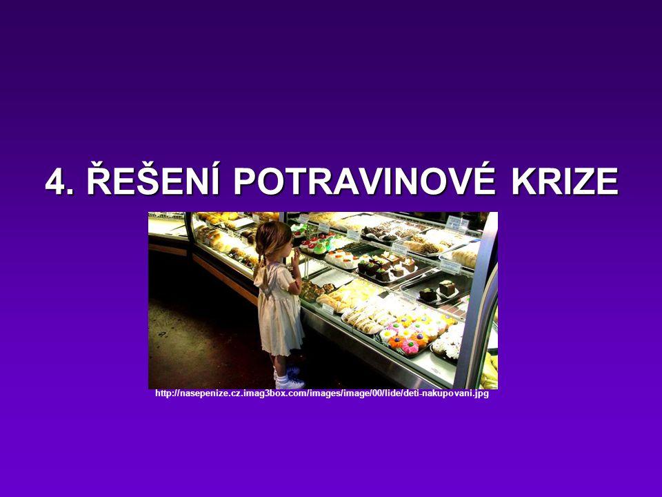 4. ŘEŠENÍ POTRAVINOVÉ KRIZE http://nasepenize.cz.imag3box.com/images/image/00/lide/deti-nakupovani.jpg