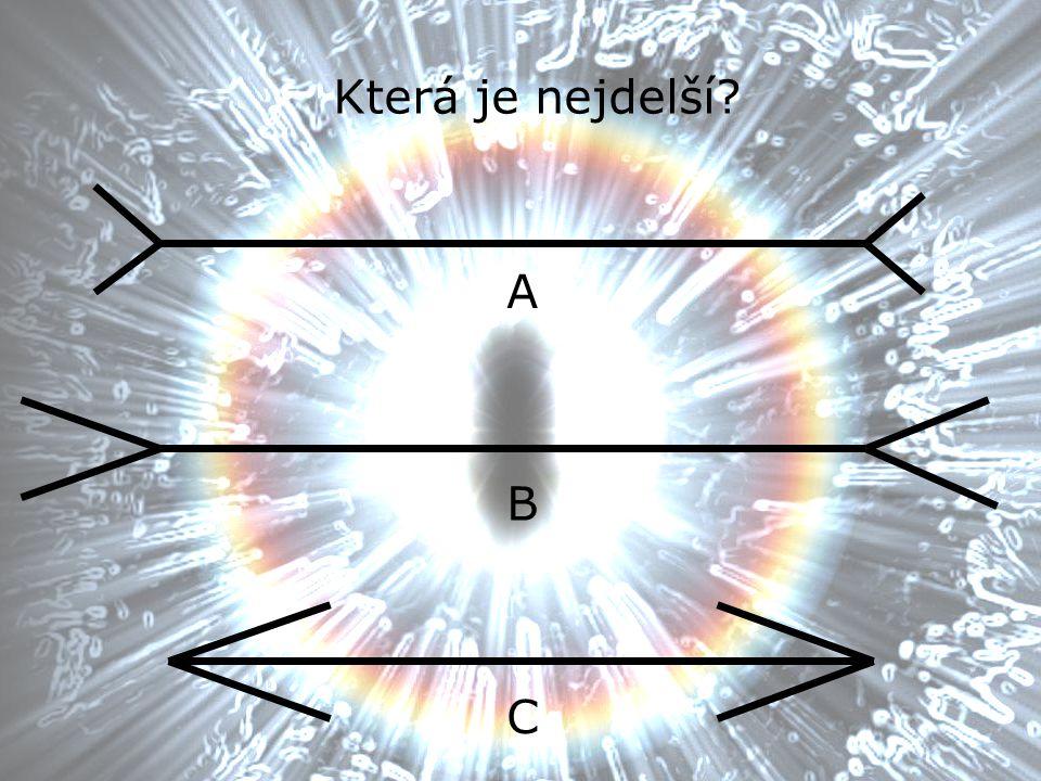 Která je nejdelší A B C
