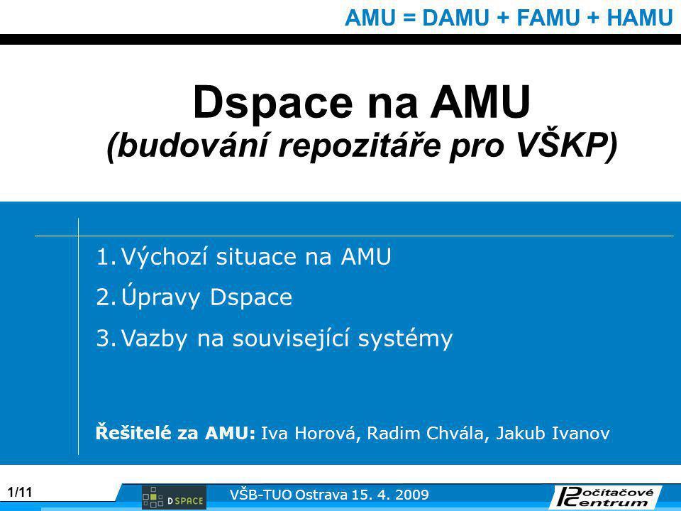 1/11 VŠB-TUO Ostrava 15. 4.