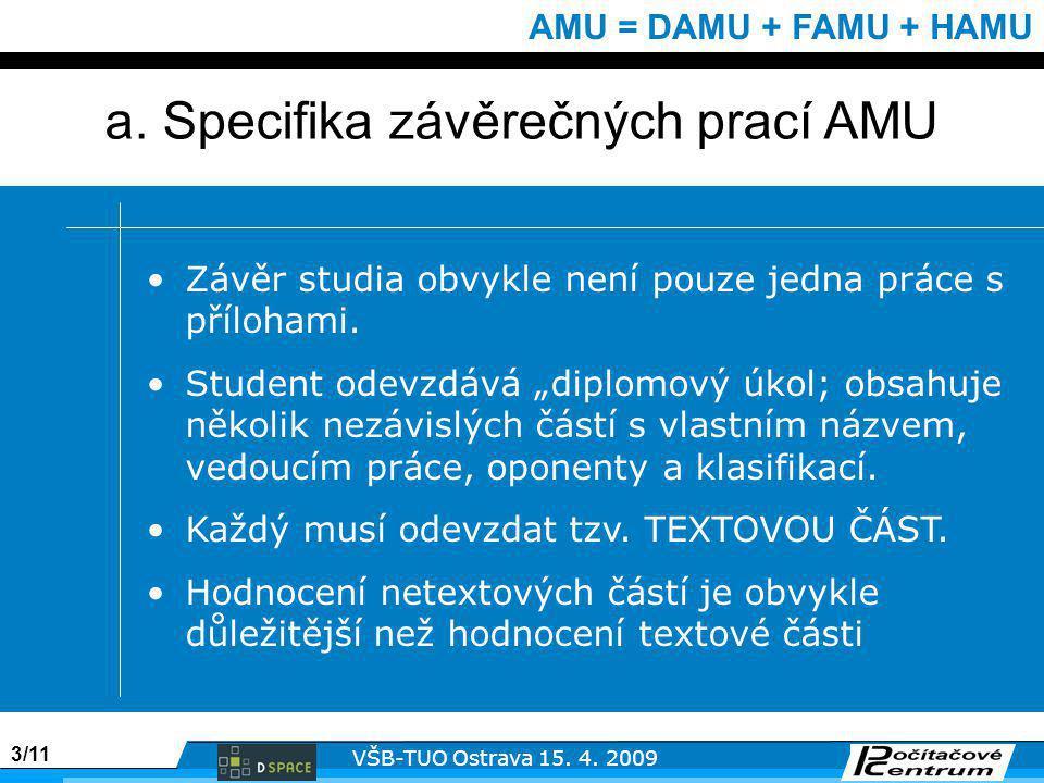 3/11 VŠB-TUO Ostrava 15. 4.