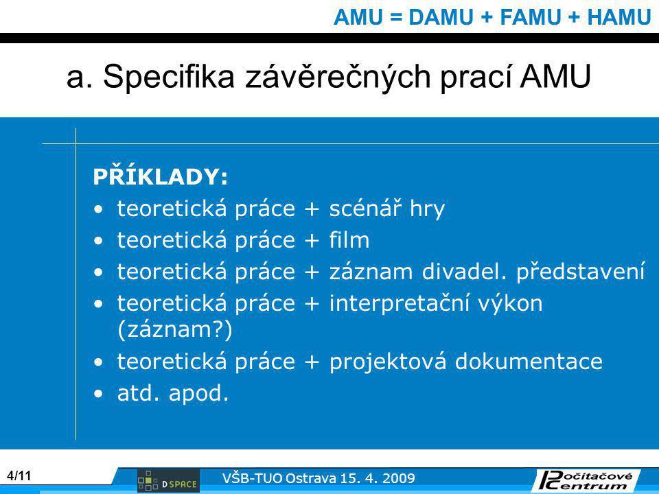 4/11 VŠB-TUO Ostrava 15. 4.