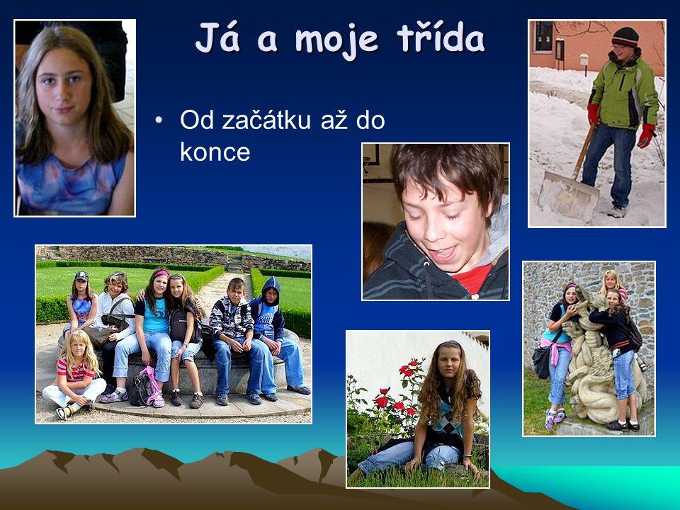 1.Třída V první třídě nás bylo 6 já,Viky,Dominik Horváth,Nicole Čmejlová,Karolína Horová a Kristýna Koubíková která v první třídě propadla a opakovala ji.