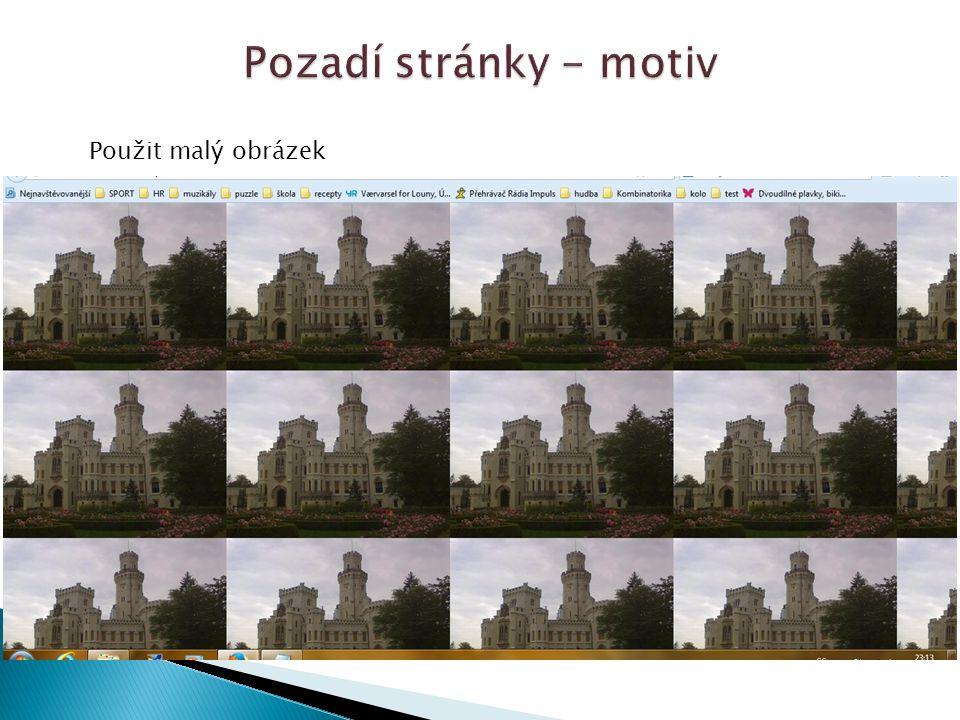 Použit velký obrázek