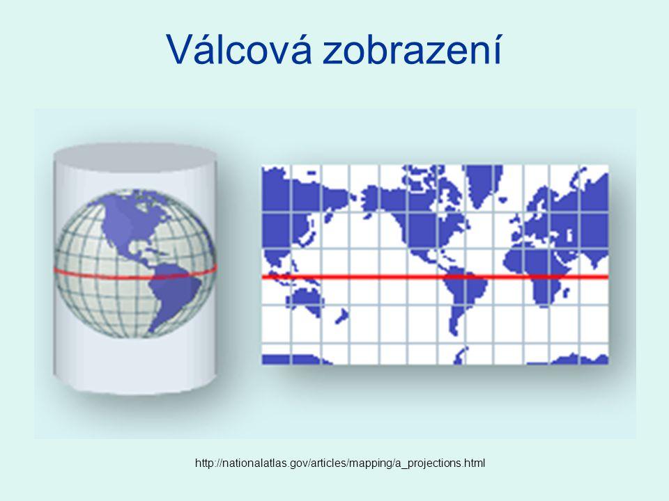 http://nationalatlas.gov/articles/mapping/a_projections.html Válcová zobrazení