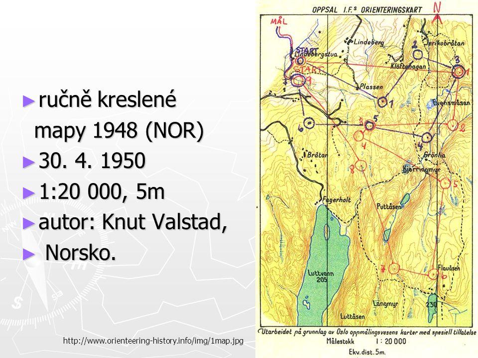 ► ručně kreslené mapy 1948 (NOR) mapy 1948 (NOR) ► 30.