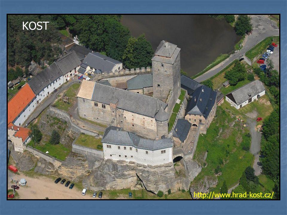 KOST http://www.hrad-kost.cz/