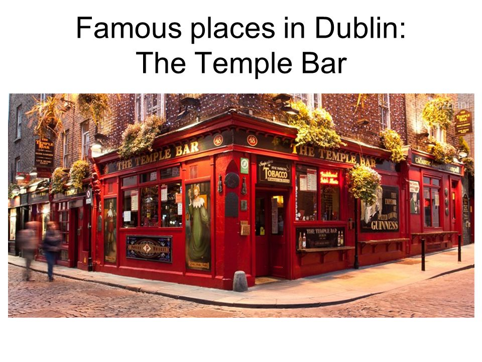 Famous places in Dublin: O´Connell Street