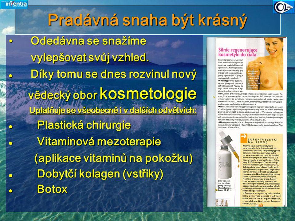 15 Jaké druhy kolagenu jsou dostupné.