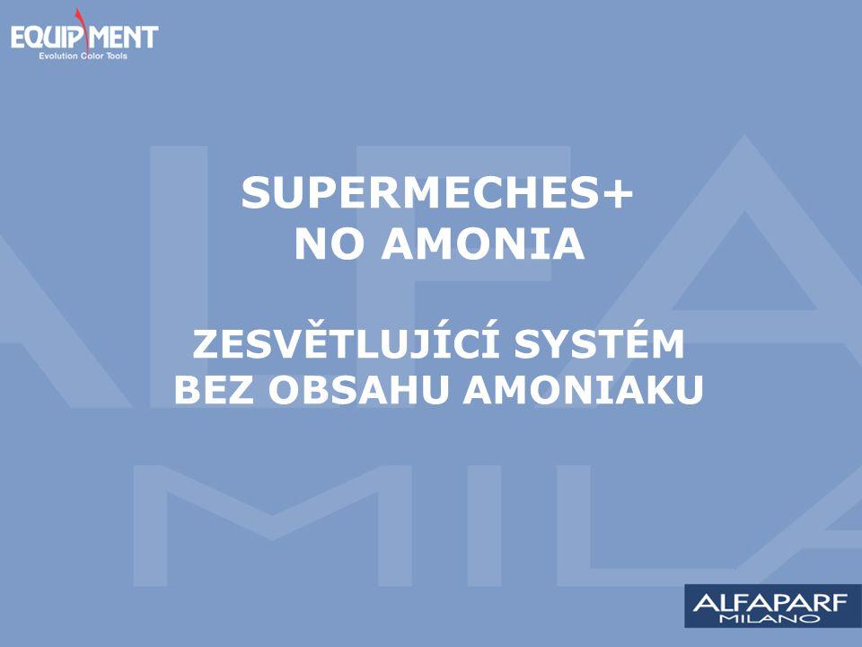 SUPERMECHES+ NO AMONIA ZESVĚTLUJÍCÍ SYSTÉM BEZ OBSAHU AMONIAKU
