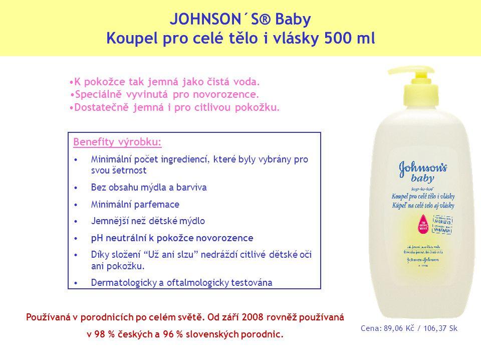 K pokožce tak jemná jako čistá voda.Speciálně vyvinutá pro novorozence.