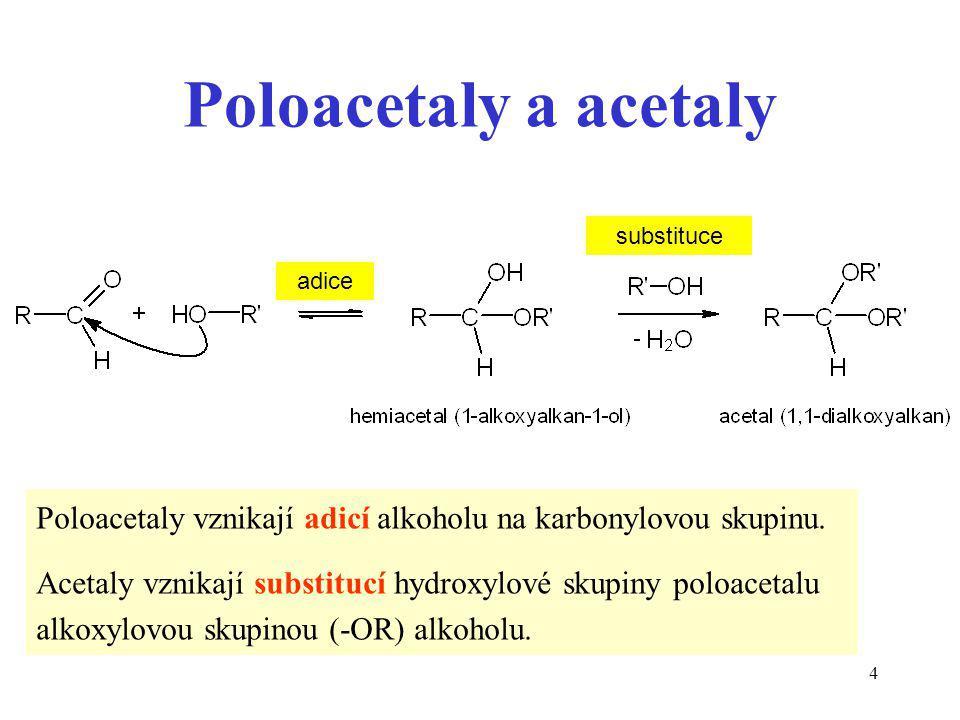 15 Diestery kyseliny fosforečné jsou spojovacími elementy v nukleových kyselinách.