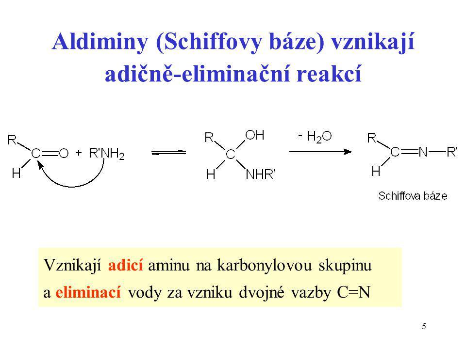 36 Dehydrogenace ethanolu (zjednodušené schéma) POZOR: toto není reakce, pouze jeden redoxní pár.