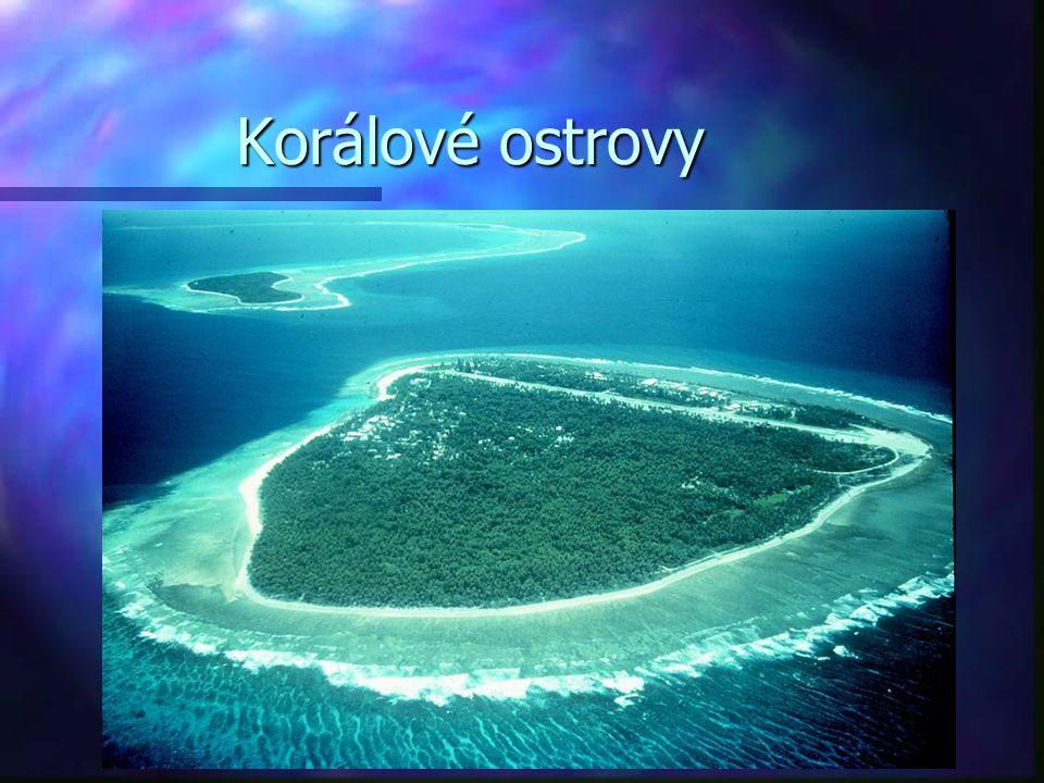 Korálové ostrovy