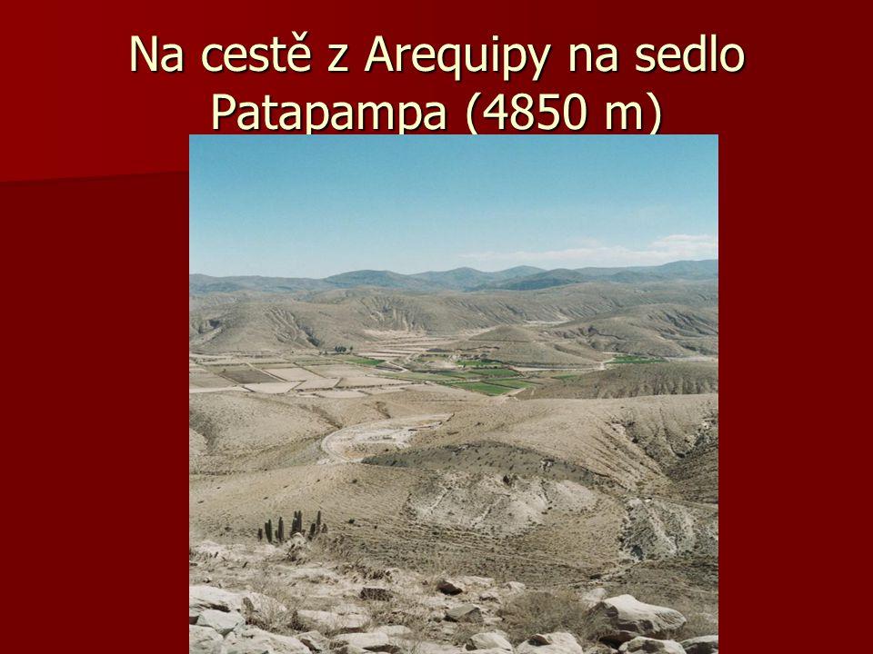 Arequipa a údolí Colca