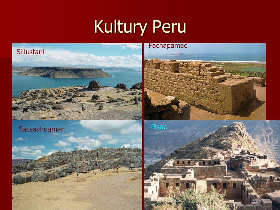 Incká říše v 15. - 16.století a přehled historie Peru 7600 př.K…skalní kresby lam a lidí. (Lauricocha) 7600 př.K…skalní kresby lam a lidí. (Lauricocha