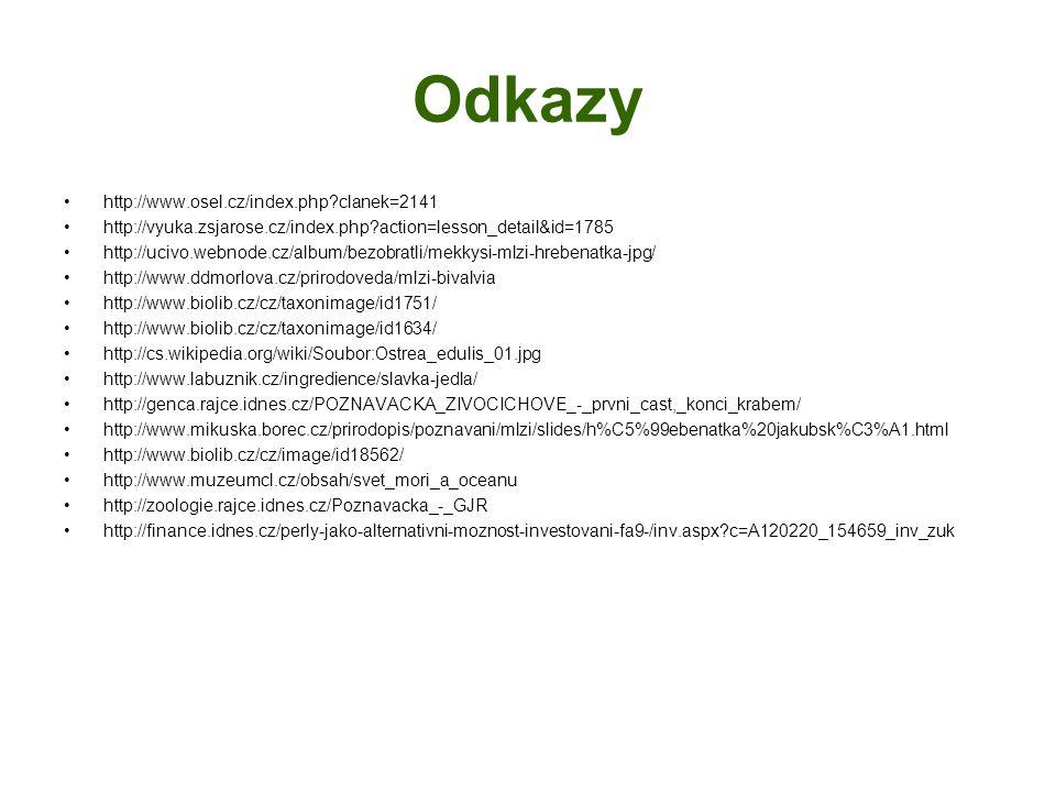 Odkazy http://www.osel.cz/index.php?clanek=2141 http://vyuka.zsjarose.cz/index.php?action=lesson_detail&id=1785 http://ucivo.webnode.cz/album/bezobrat