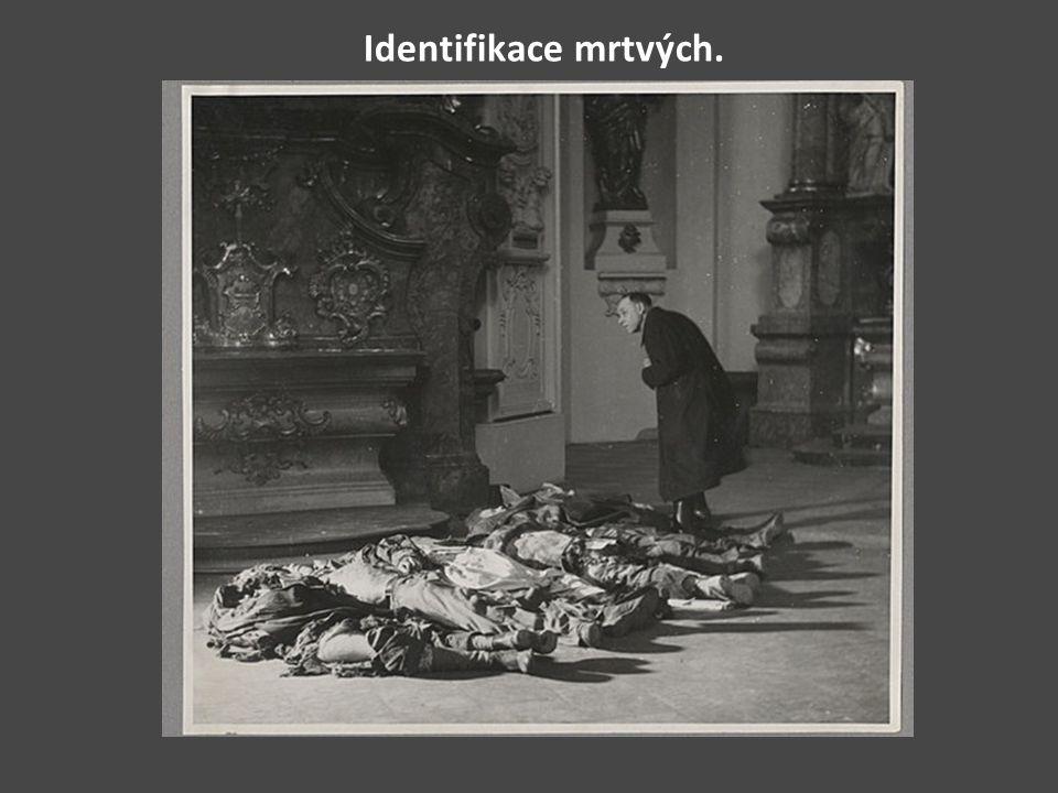Identifikace mrtvých.