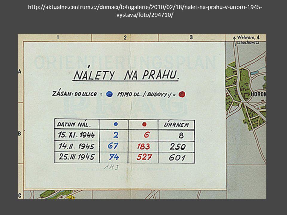 Nálet na Prahu v únoru 1945 4.února 1945 vyslala 8.
