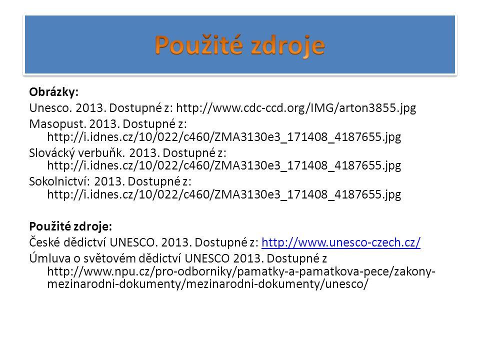 Obrázky: Unesco.2013. Dostupné z: http://www.cdc-ccd.org/IMG/arton3855.jpg Masopust.