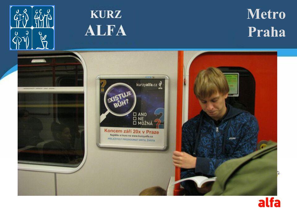Metro Praha Příklad banneru na web