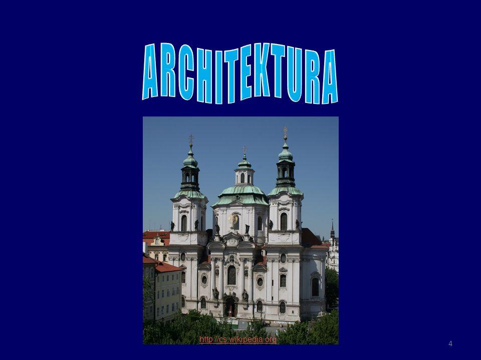 o do současnosti se zachovalo velké množství barokních staveb – kostelů, klášterů, zámků, paláců, měšťanských i venkovských domů, kapliček, božích muk, morových sloupů a kašen o v architektuře baroka rozlišujeme dva směry: 1.