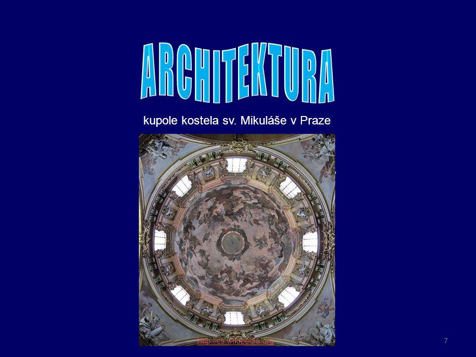 o bohatá výzdoba z mramoru, zlata a stříbra umocňuje vznešenost a okázalost interiéru kostel sv.