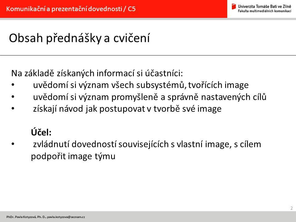 13 PhDr.Pavla Kotyzová, Ph. D., pavla.kotyzova@seznam.cz Jak na to.