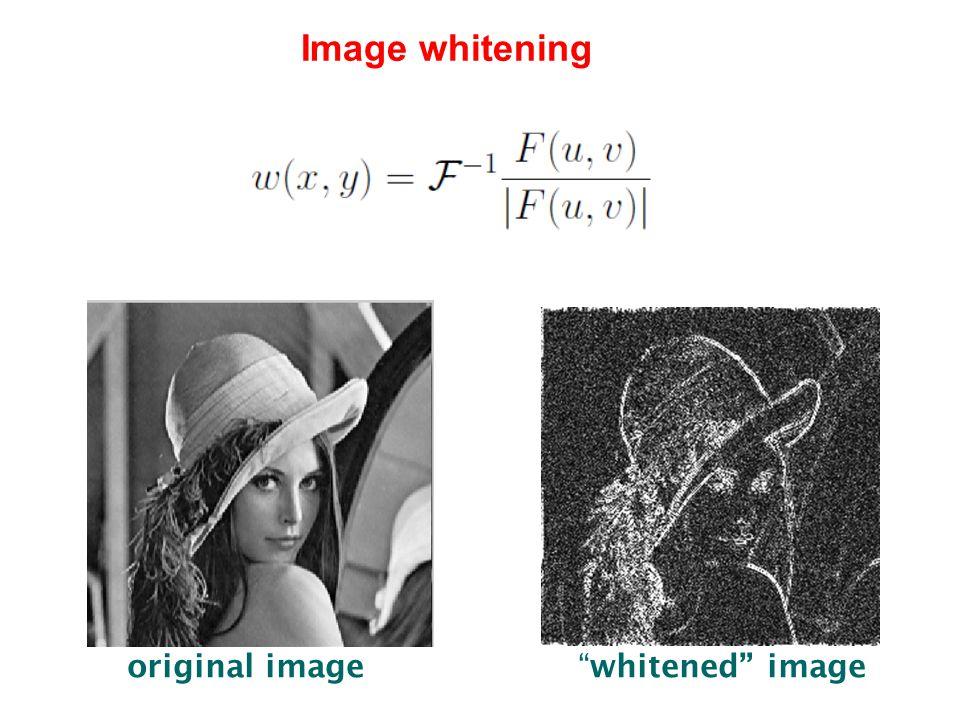 """original image """"whitened"""" image Image whitening"""