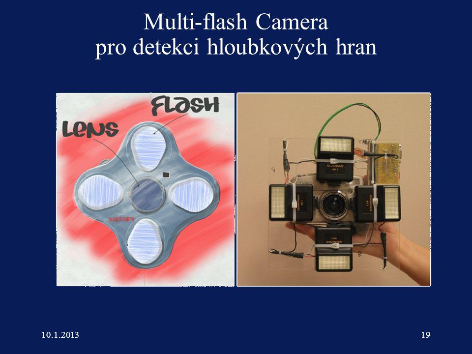  Marc Levoy Multi-flash Camera pro detekci hloubkových hran 10.1.201319