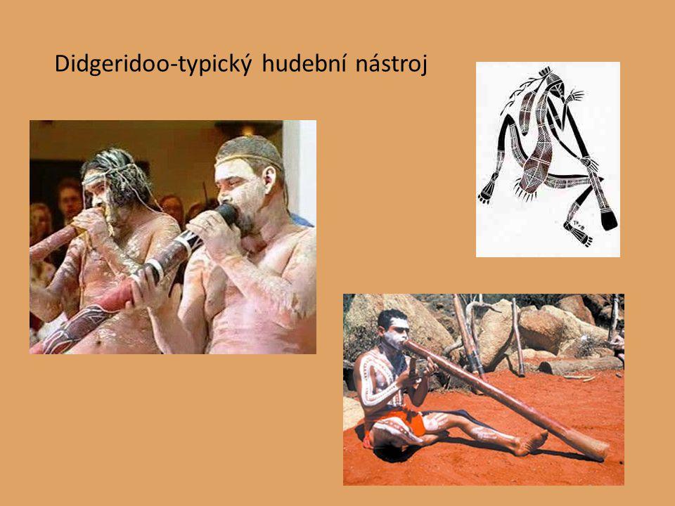 Didgeridoo-typický hudební nástroj