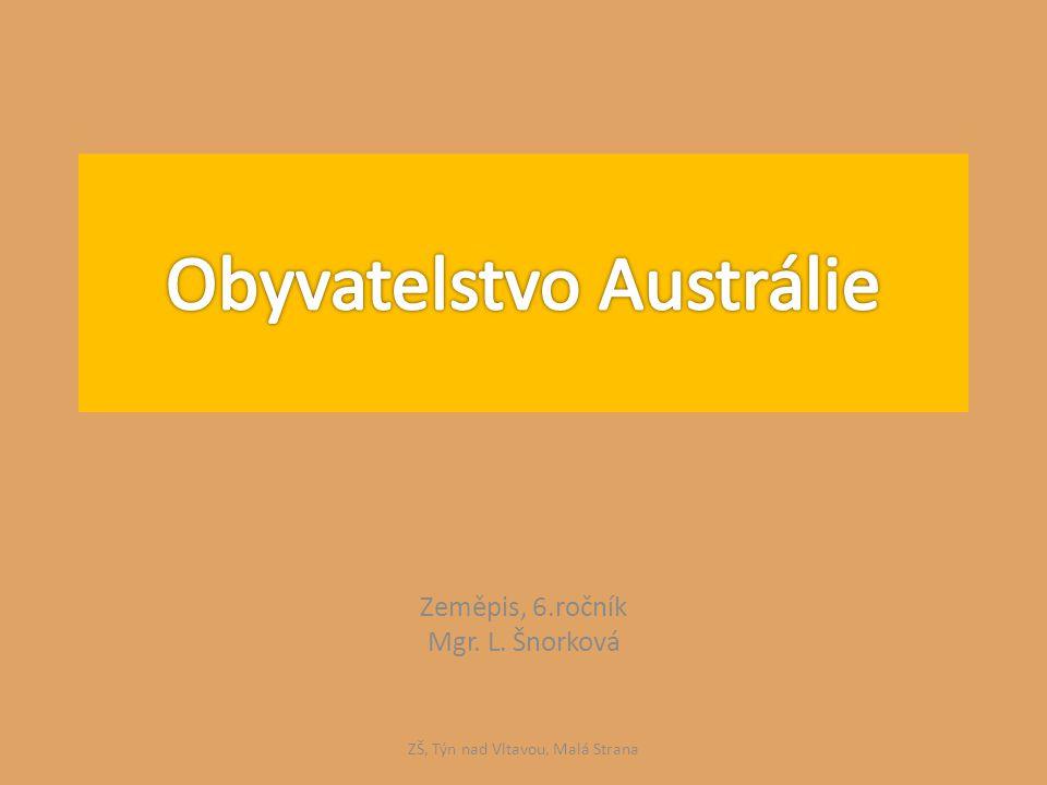 Zeměpis, 6.ročník Mgr. L. Šnorková ZŠ, Týn nad Vltavou, Malá Strana