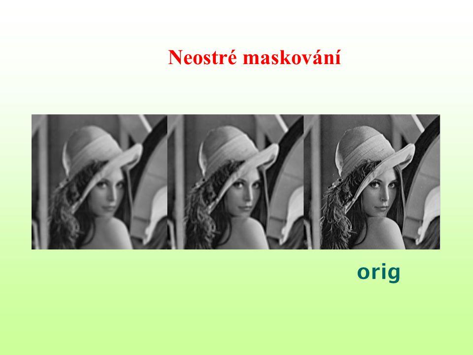 Neostré maskování orig