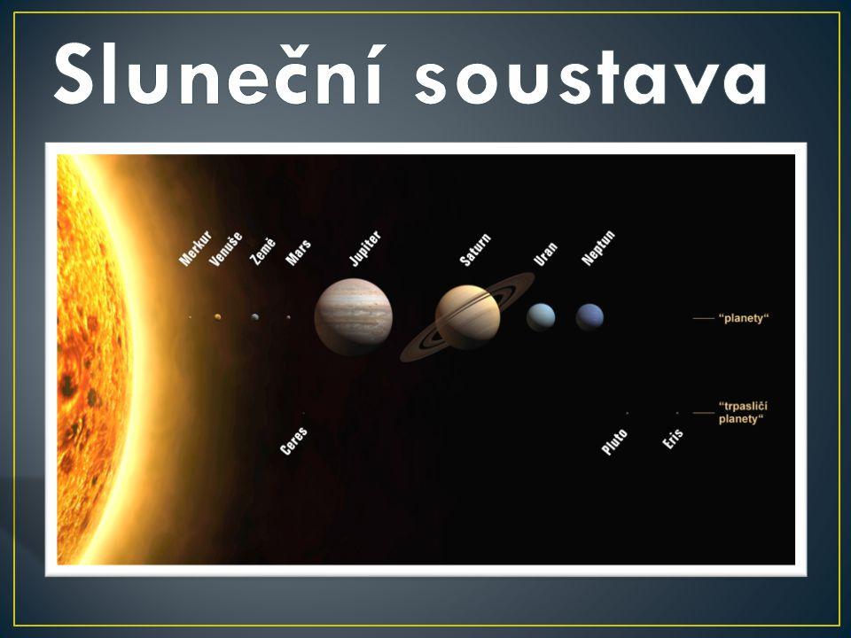 Planetární systém hvězdy známé pod jménem Slunce.
