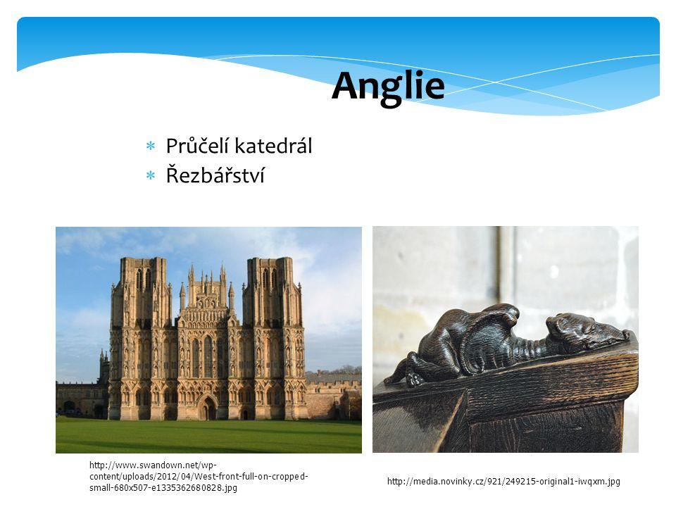 Anglie  Průčelí katedrál  Řezbářství http://www.swandown.net/wp- content/uploads/2012/04/West-front-full-on-cropped- small-680x507-e1335362680828.jpg http://media.novinky.cz/921/249215-original1-iwqxm.jpg