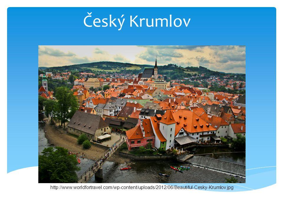 Český Krumlov http://www.worldfortravel.com/wp-content/uploads/2012/06/Beautiful-Cesky-Krumlov.jpg