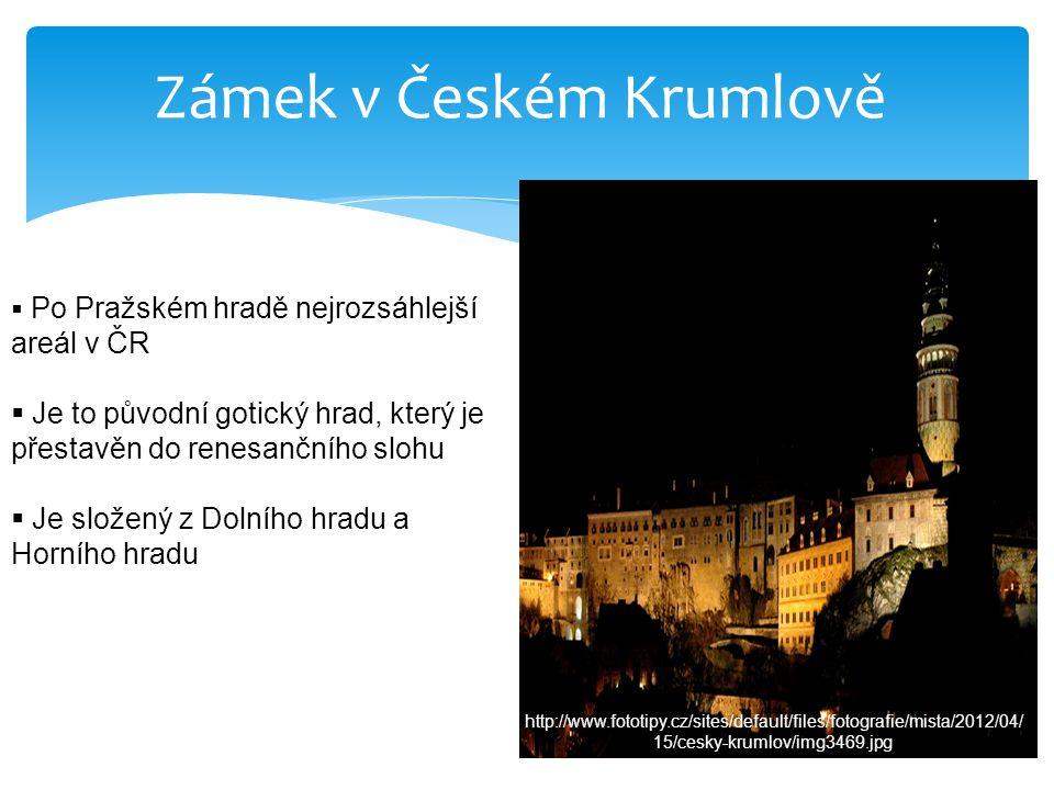  V zámku se nachází ZÁMECKÁ ZAHRADA, která byla založena v 2.